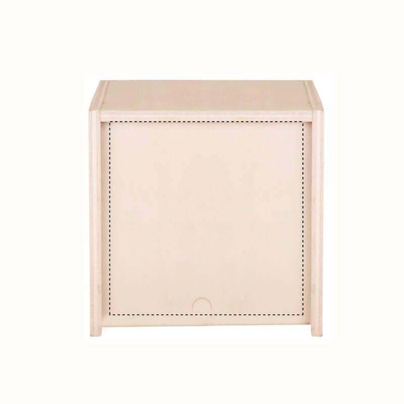 Vela con caja de madera 4