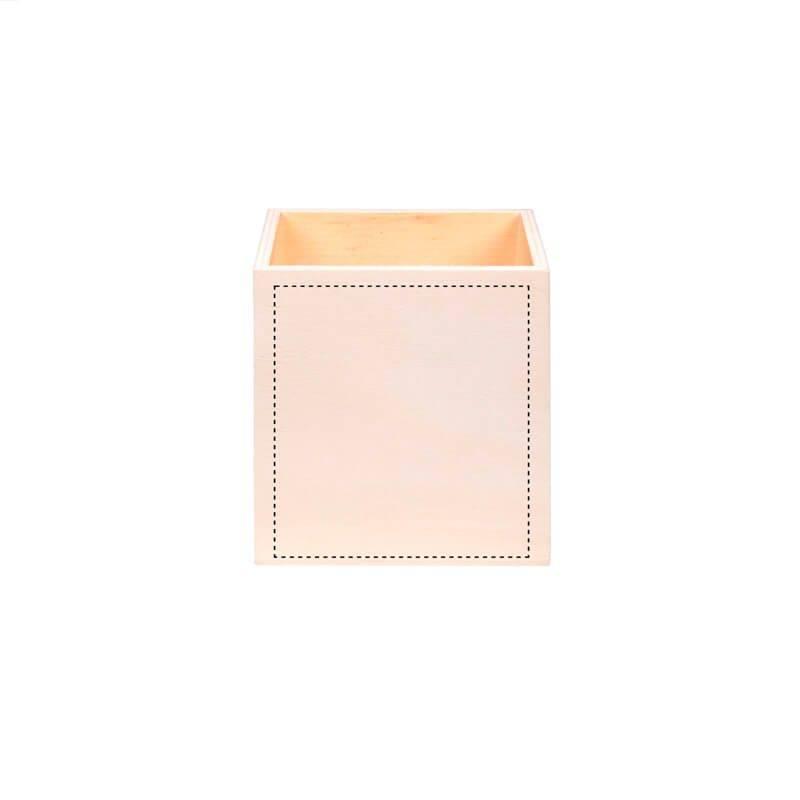 Porta lápices de madera 1