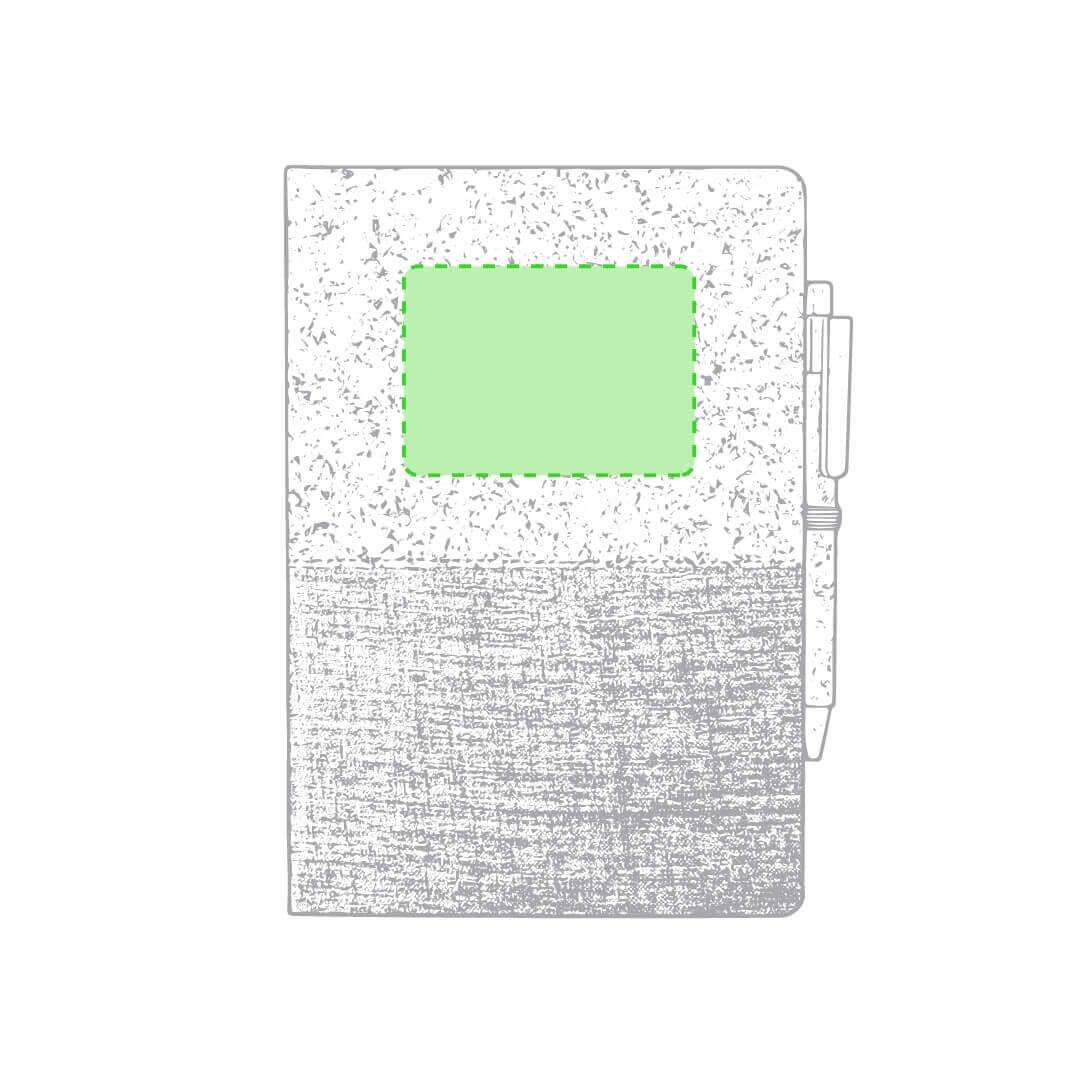 Bloc de notas de corcho y algodón 1