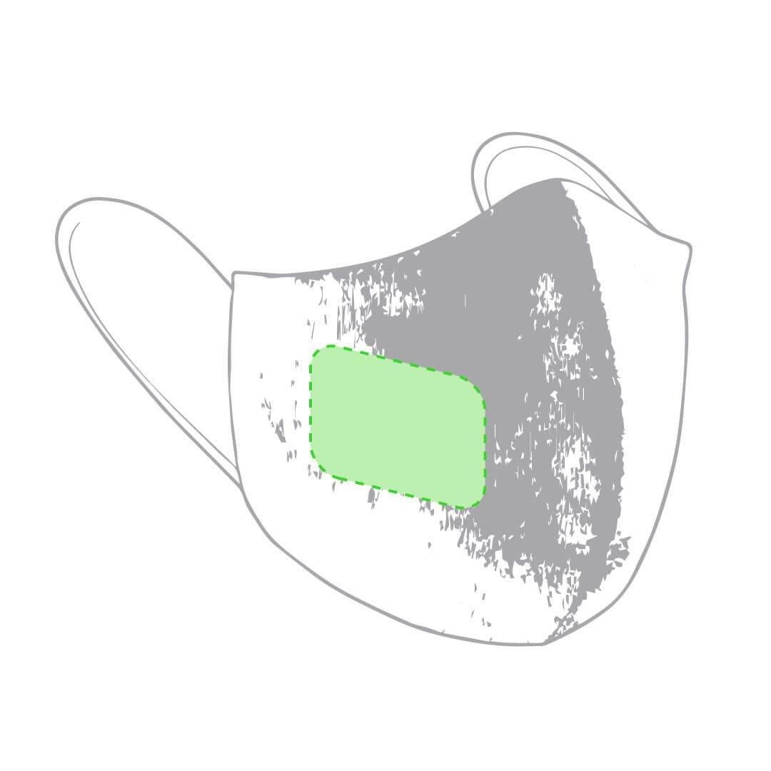 Mascarilla con tratamiento antiviral y antibacteriano 1