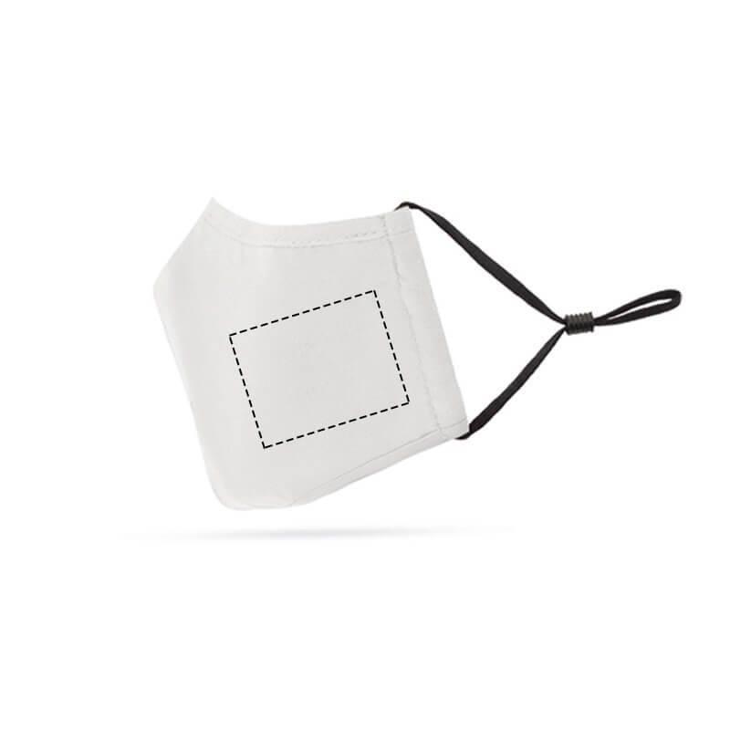 Mascarilla reutilizable con filtro para niño 1