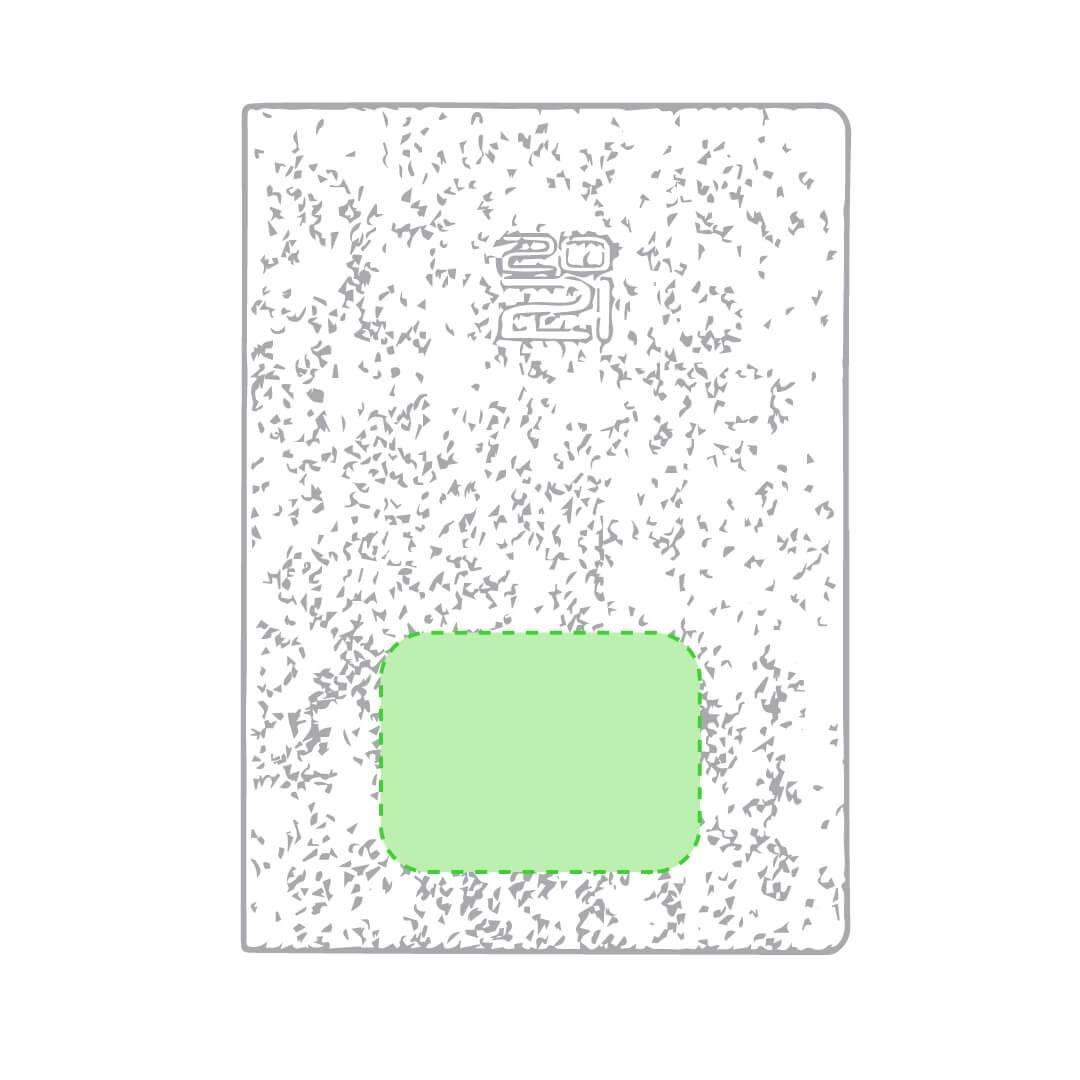Agenda de cartón granulado 1