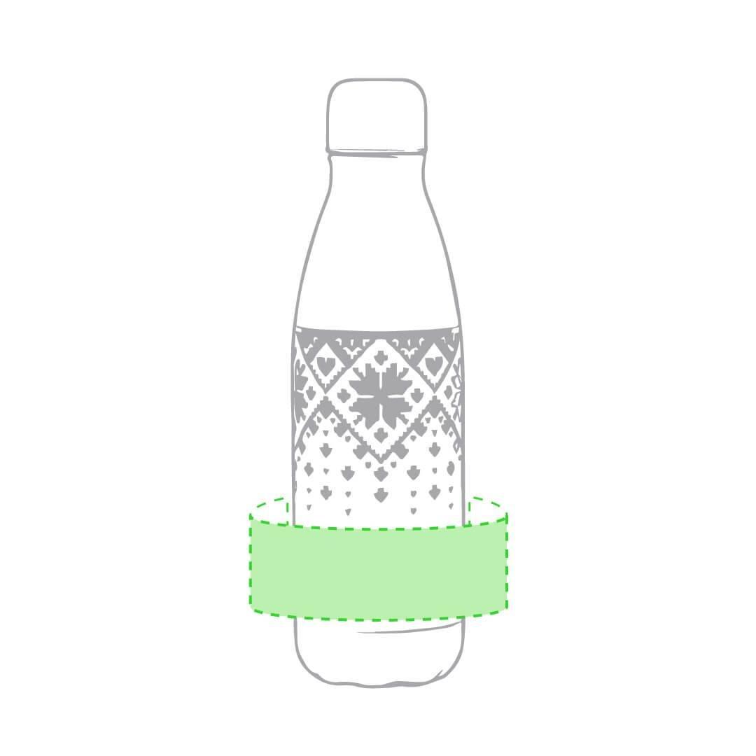 Botella de acero inoxidable navideña 1