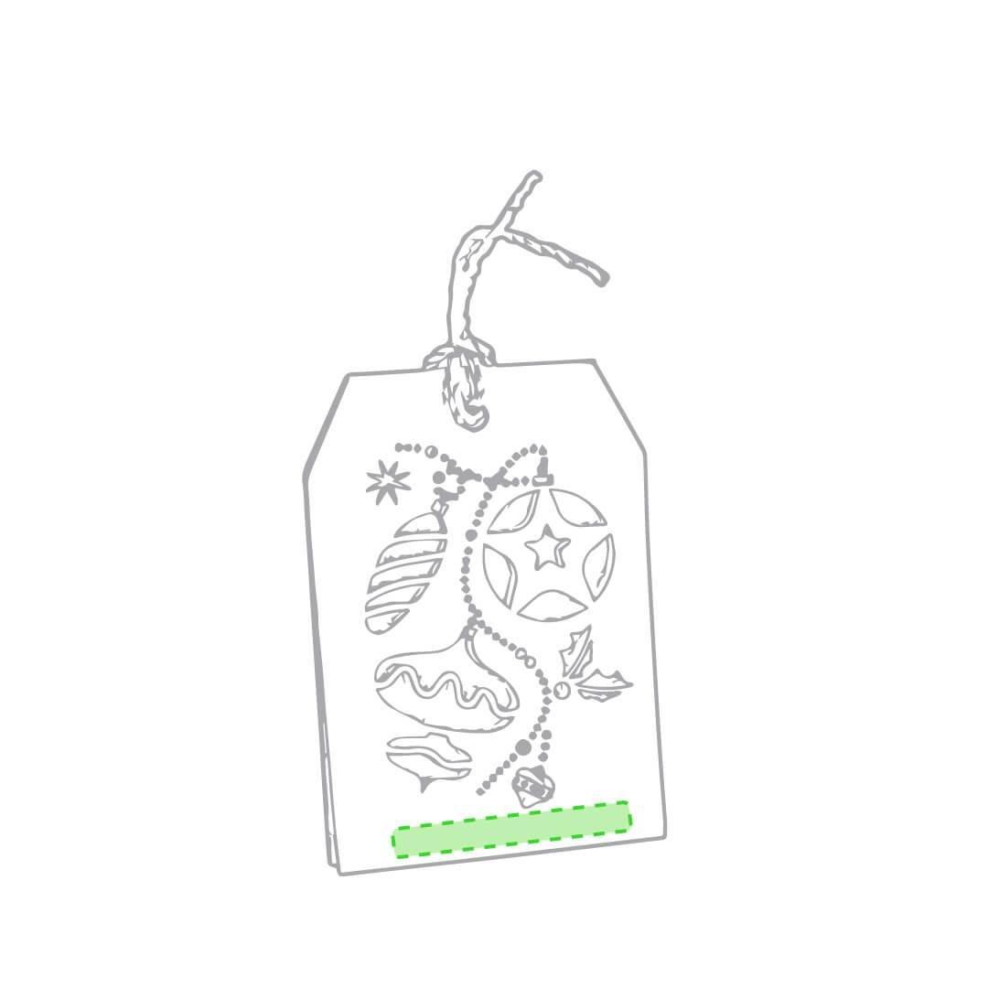 Etiqueta para regalo de Navidad 3