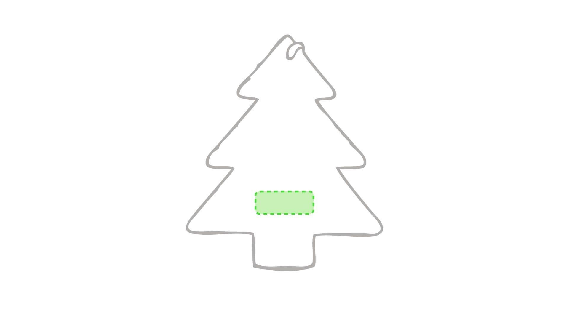 Adorno navideño para el árbol 1