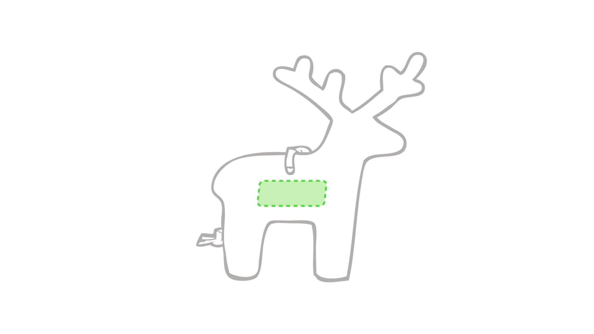 Adorno navideño para el árbol 3