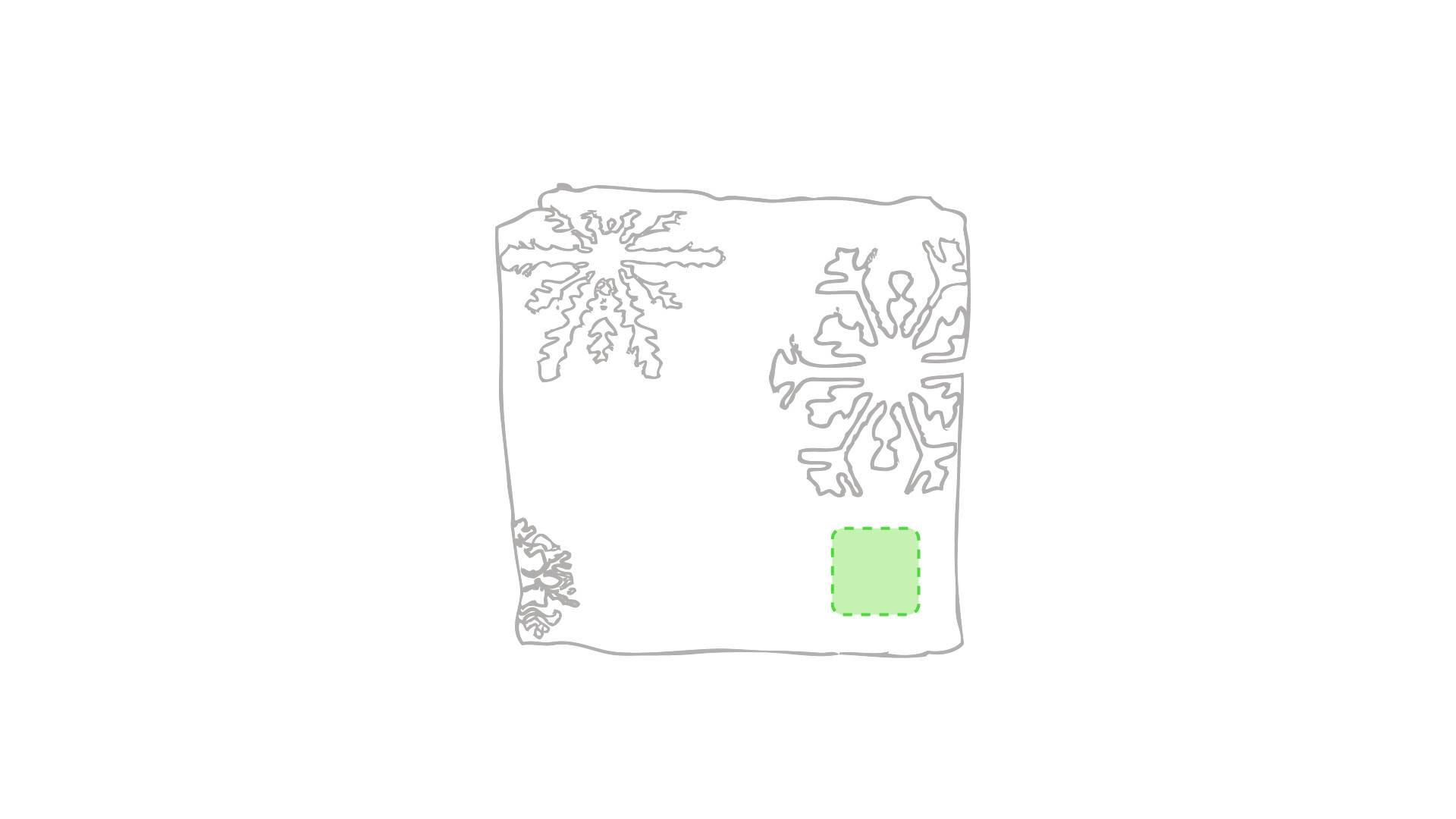 Manta polar navideña 1