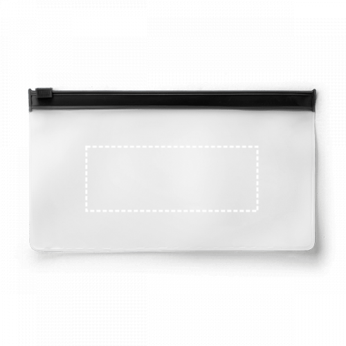 Porta mascarillas transparente 1