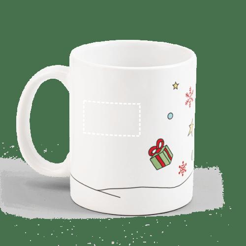 Taza de Navidad con Papá Noel 1