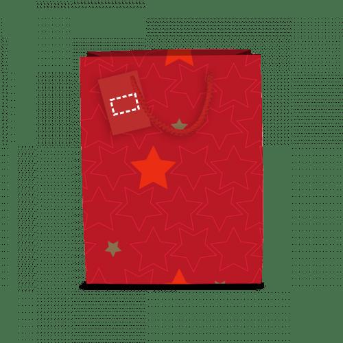 Bolsa de navidad brillante 1