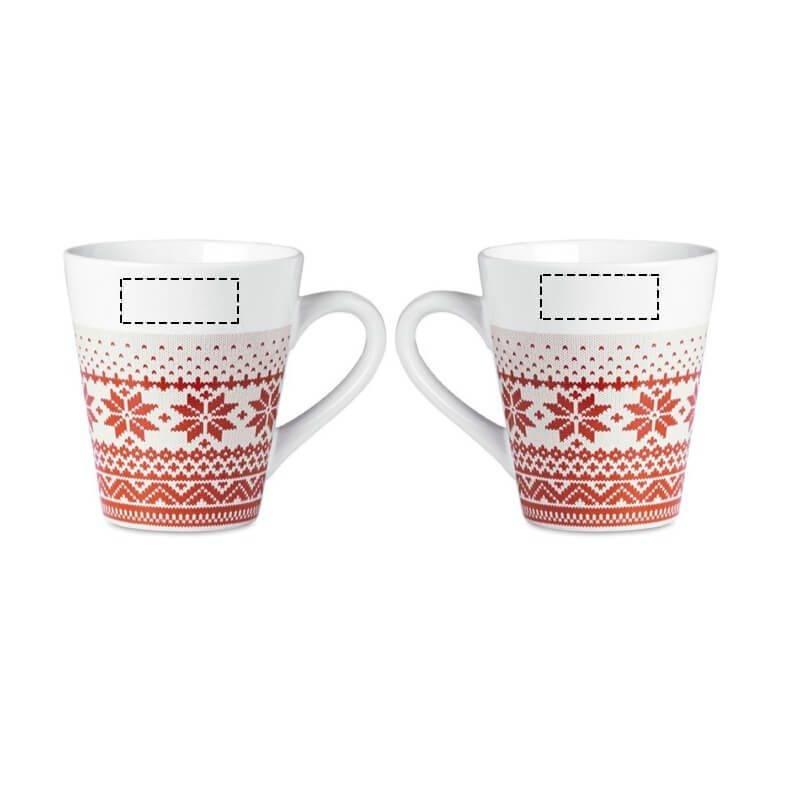 Taza de Navidad estilo nórdico 1