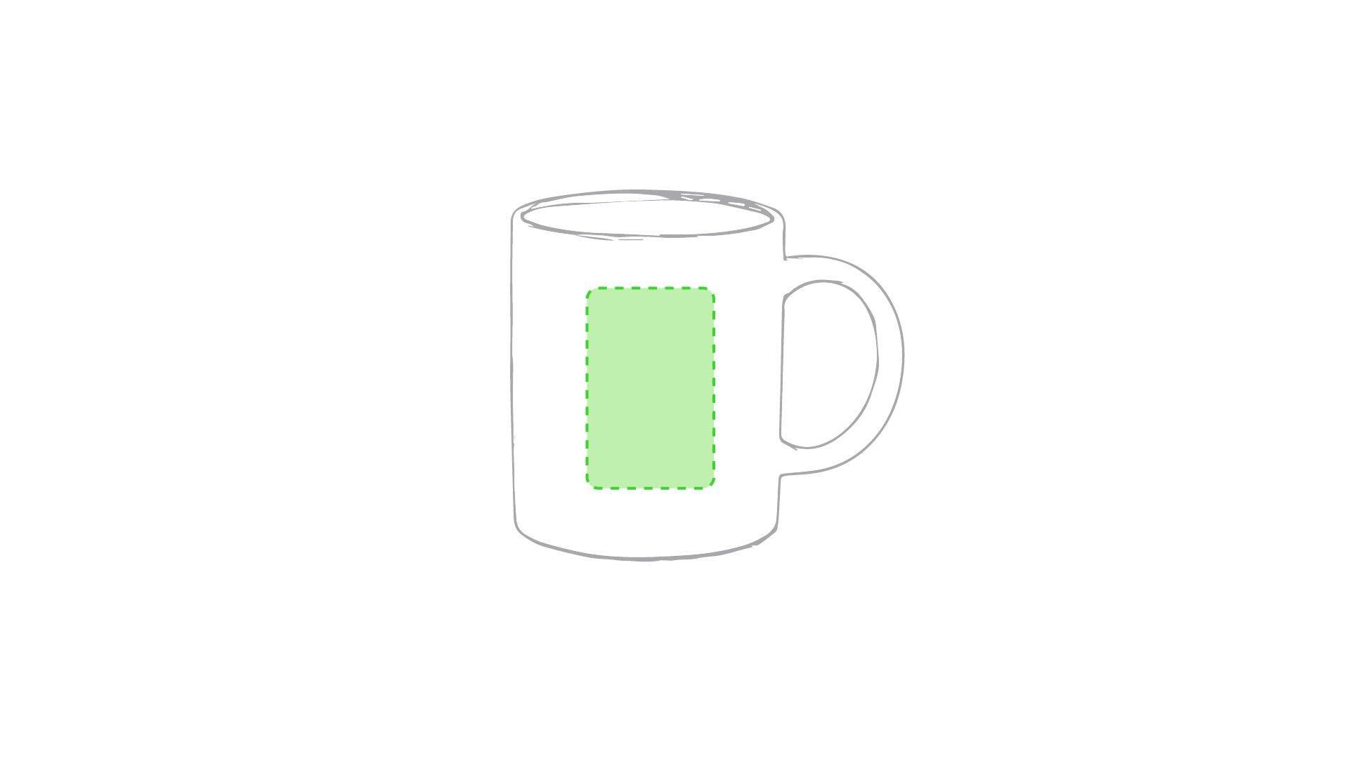 Taza cerámica de desayuno 1