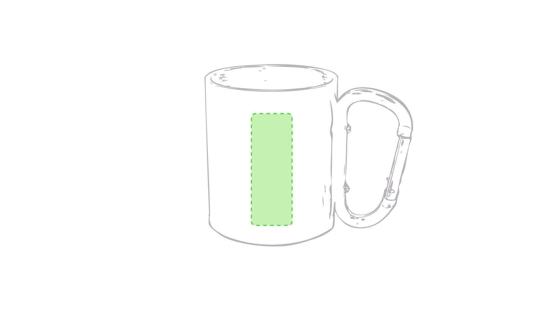 Taza con mosquetón 1