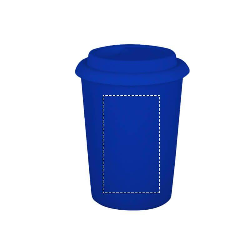 Vaso cerámico con tapa de silicona 2