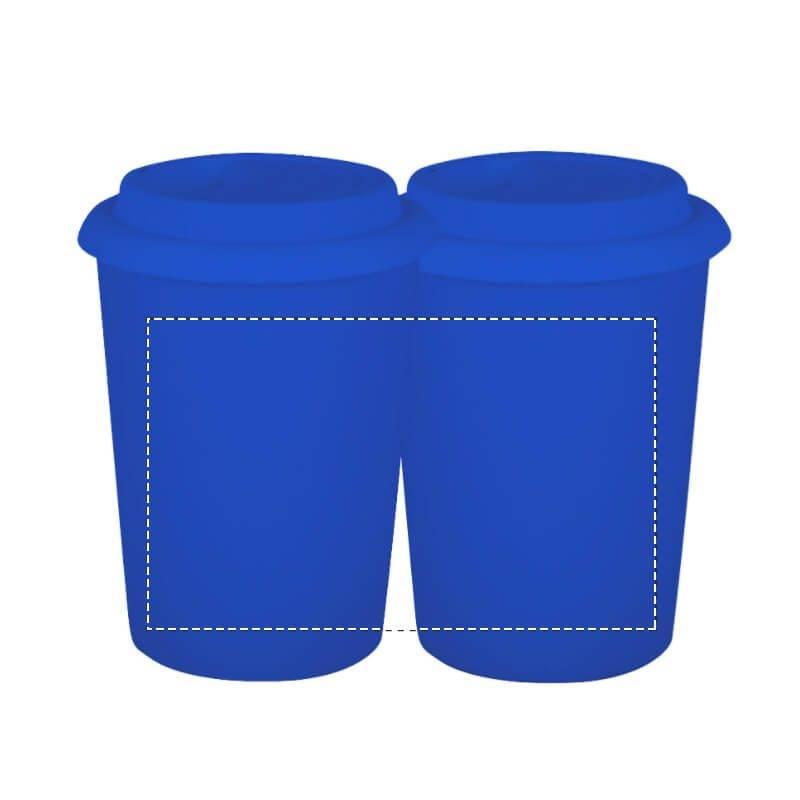 Vaso cerámico con tapa de silicona 1