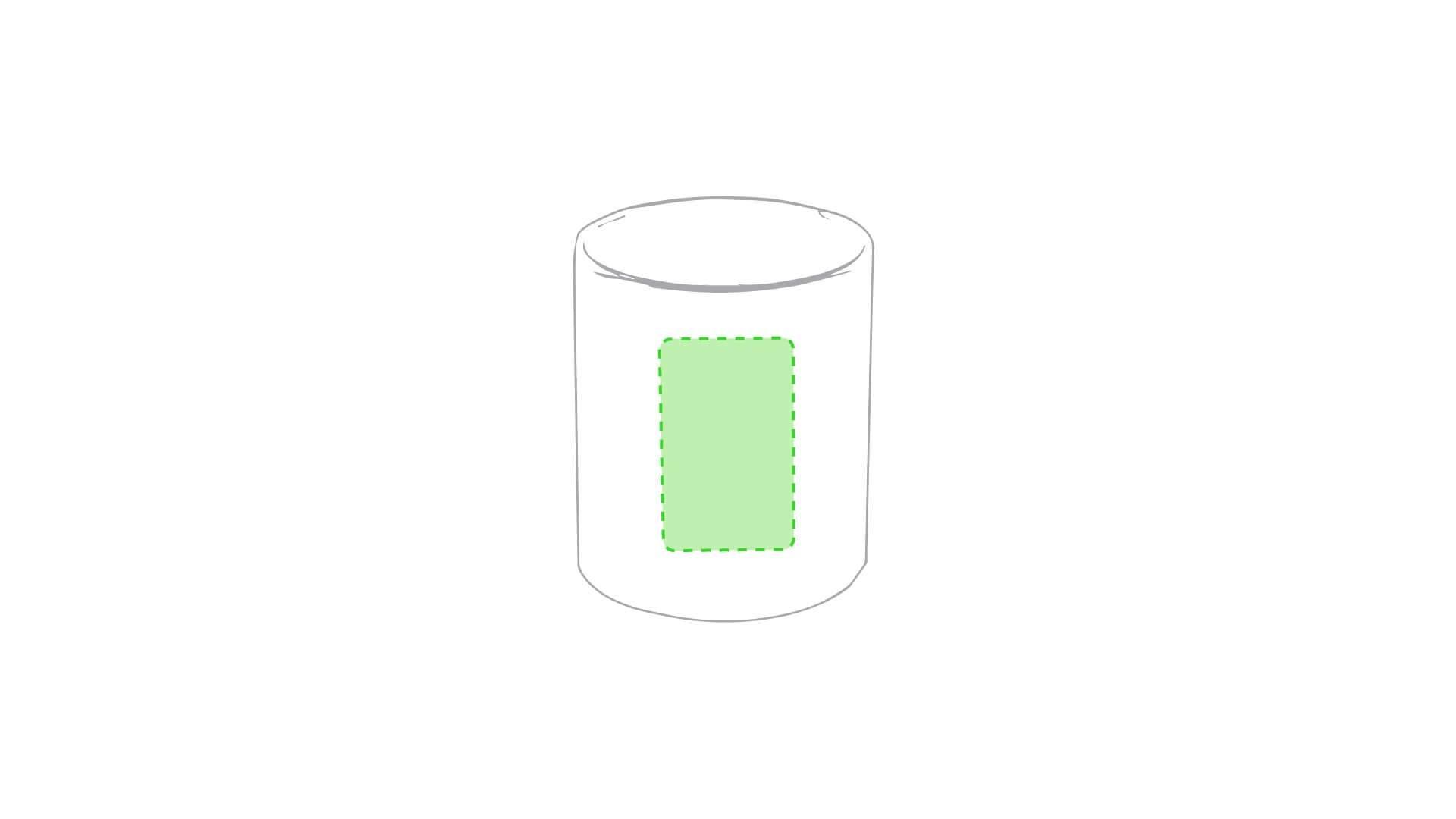 Taza cerámica 370 ml blanca 2