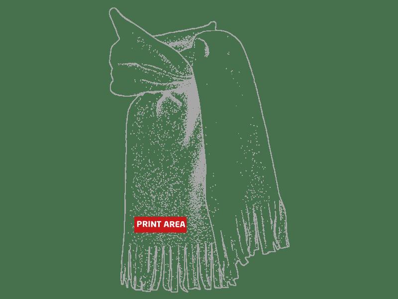 Bufanda polar de colores 1