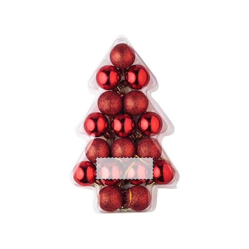 Set de mini bolas de Navidad 1