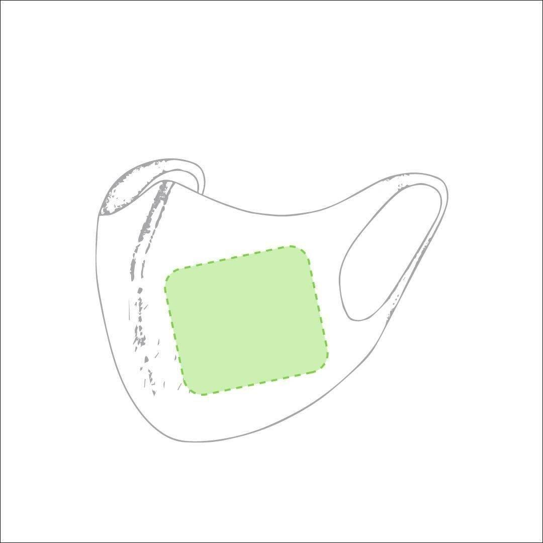 Mascarilla elástica reutilizable 1