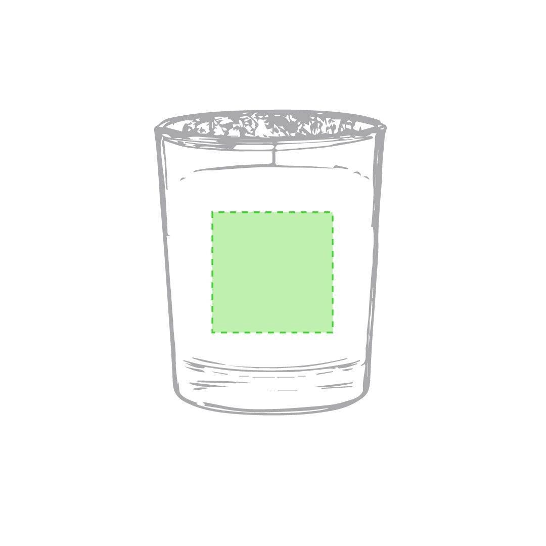 Vela de cristal aromática 1
