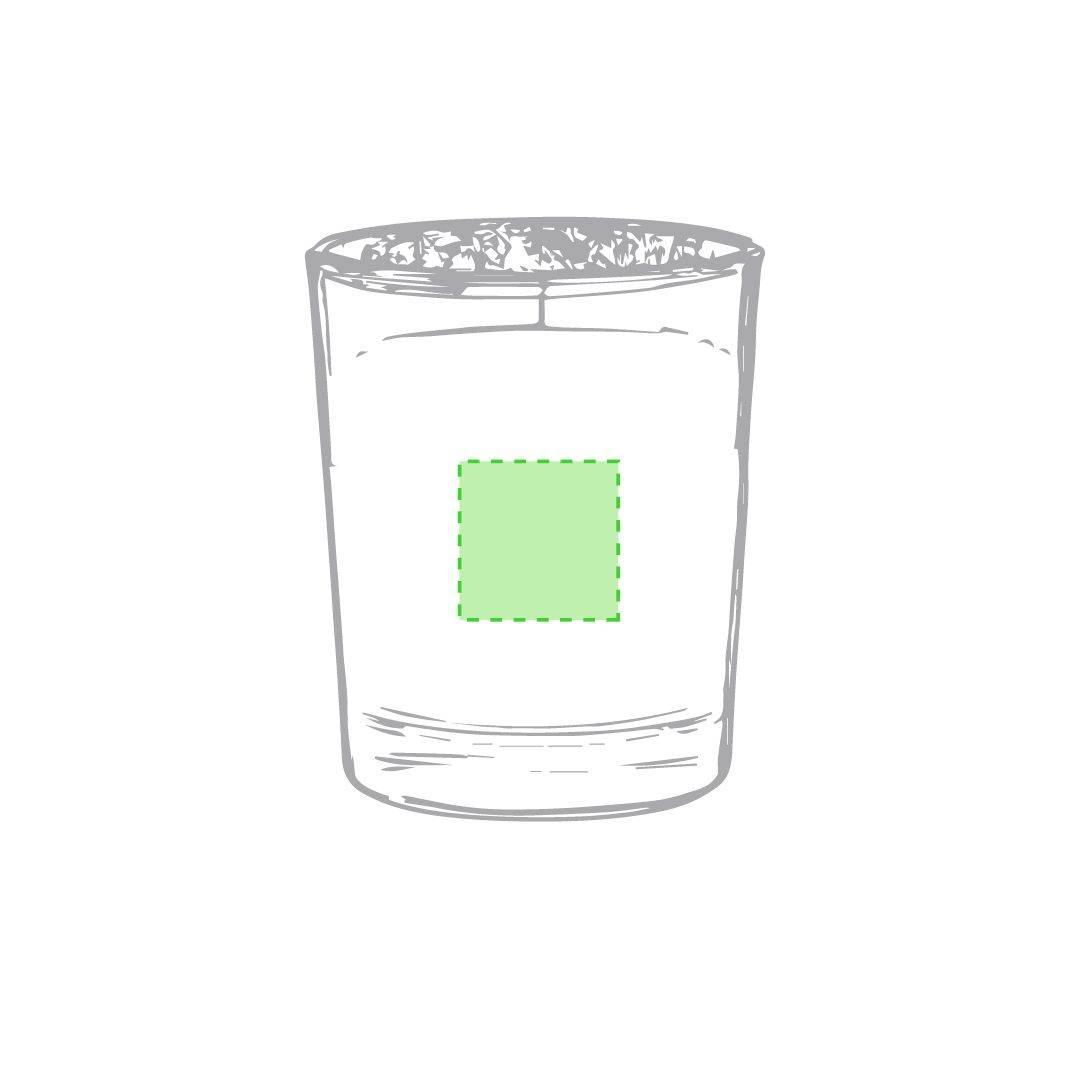 Vela de cristal aromática 2