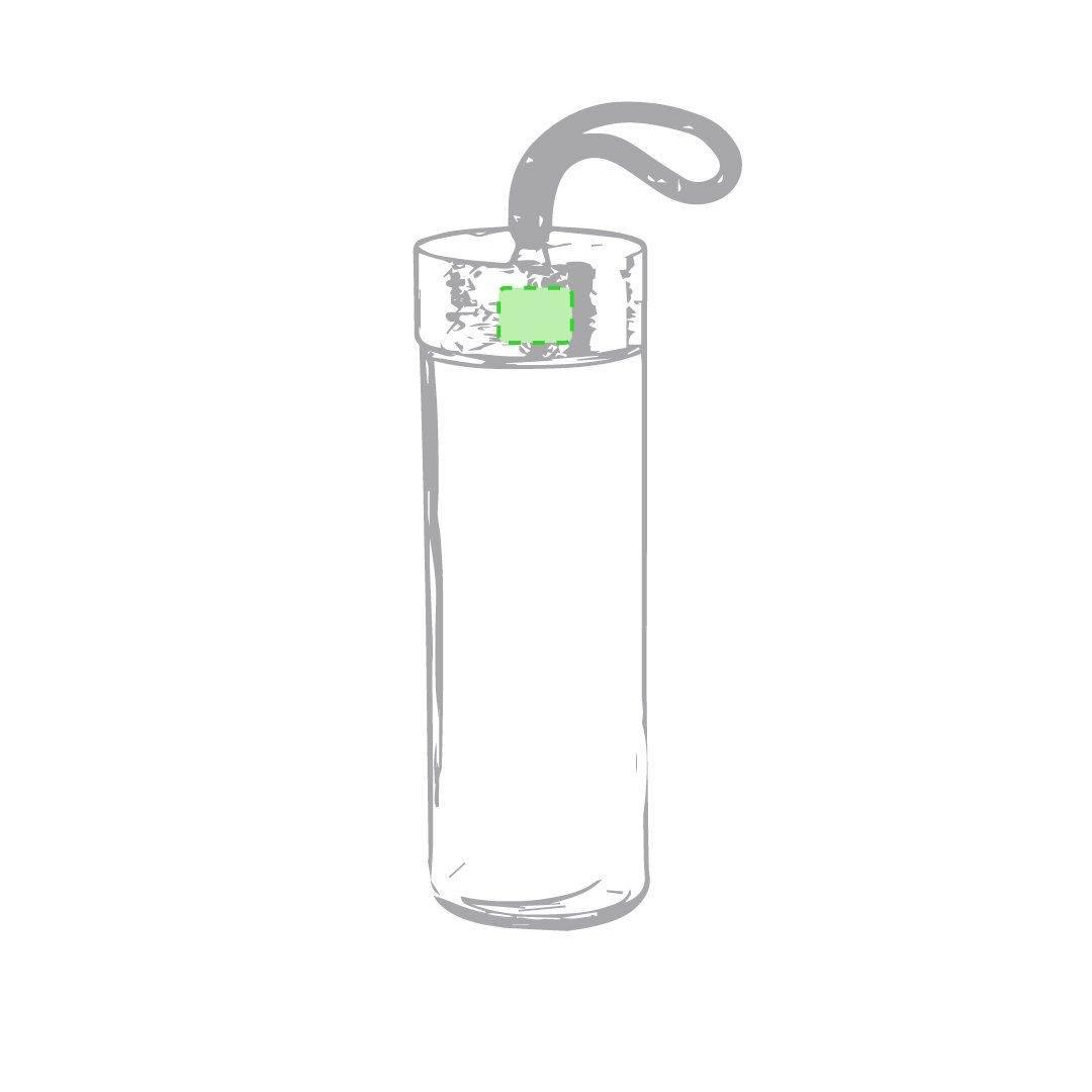 Botella de bambú con funda 3