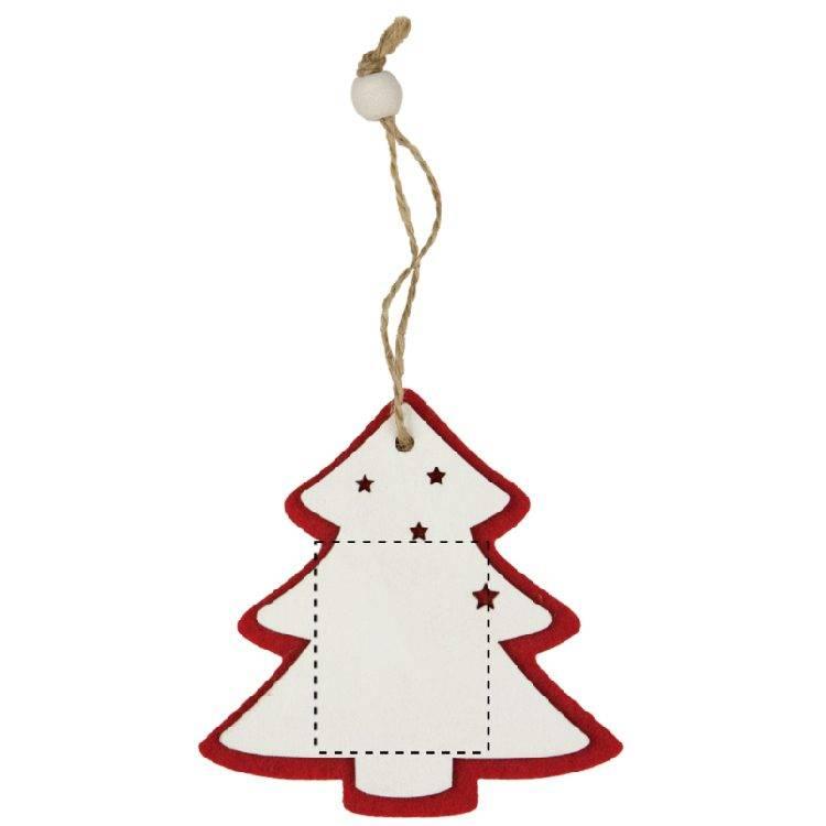 Adorno navideño para colgar 1