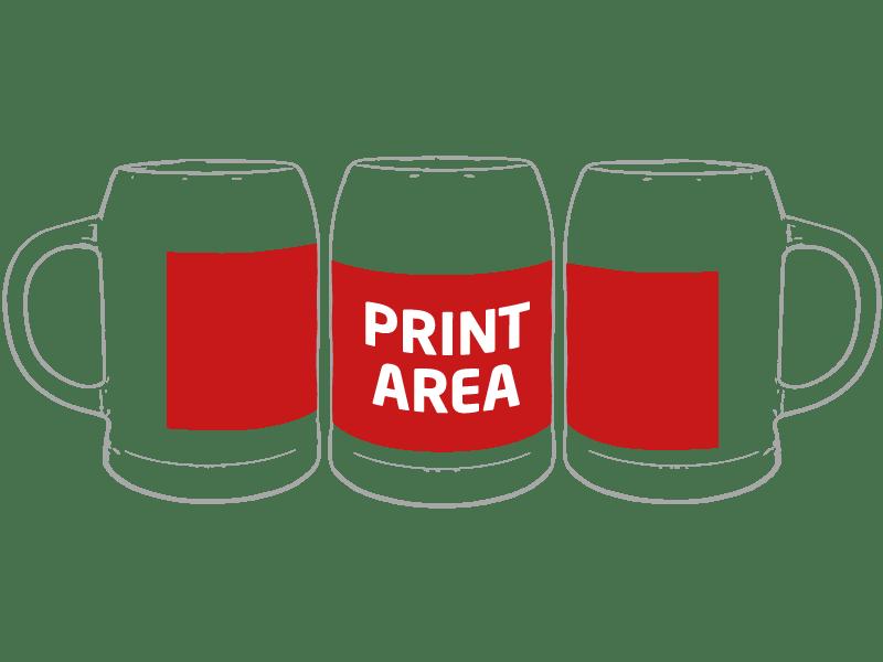 Jarra de cerveza para sublimación 3