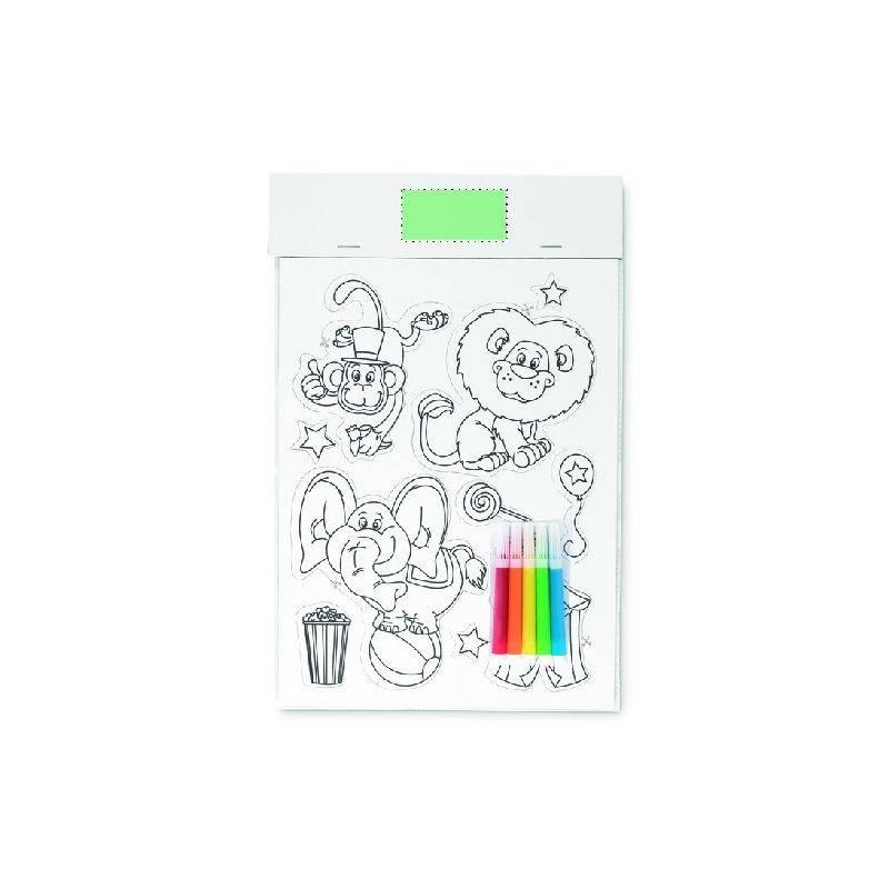 Pegatinas magnéticas para colorear 1