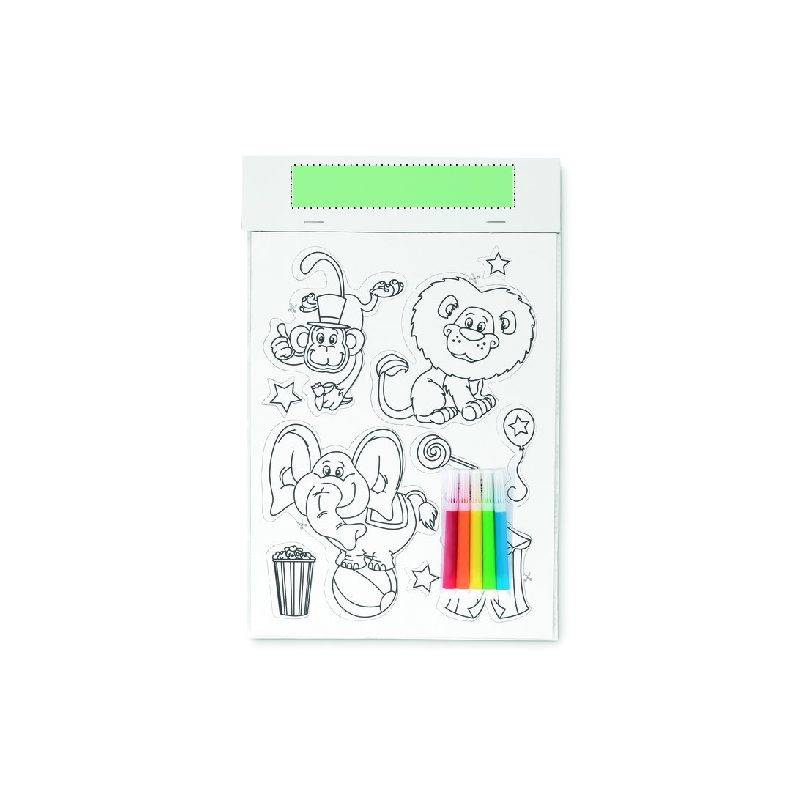 Pegatinas magnéticas para colorear 2