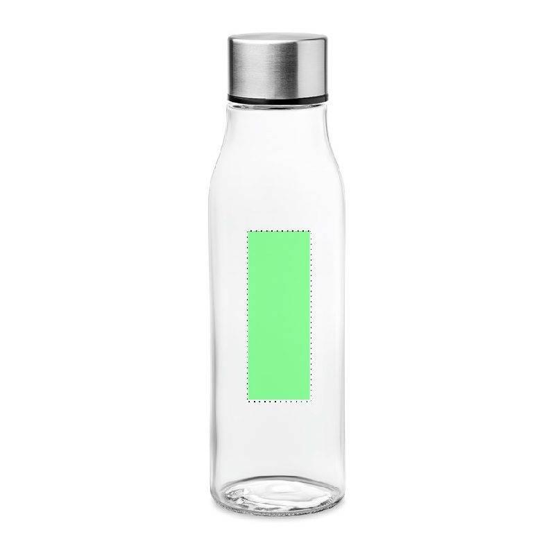 Botella de cristal con tapón de aluminio 3