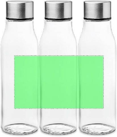 Botella de cristal con tapón de aluminio 4