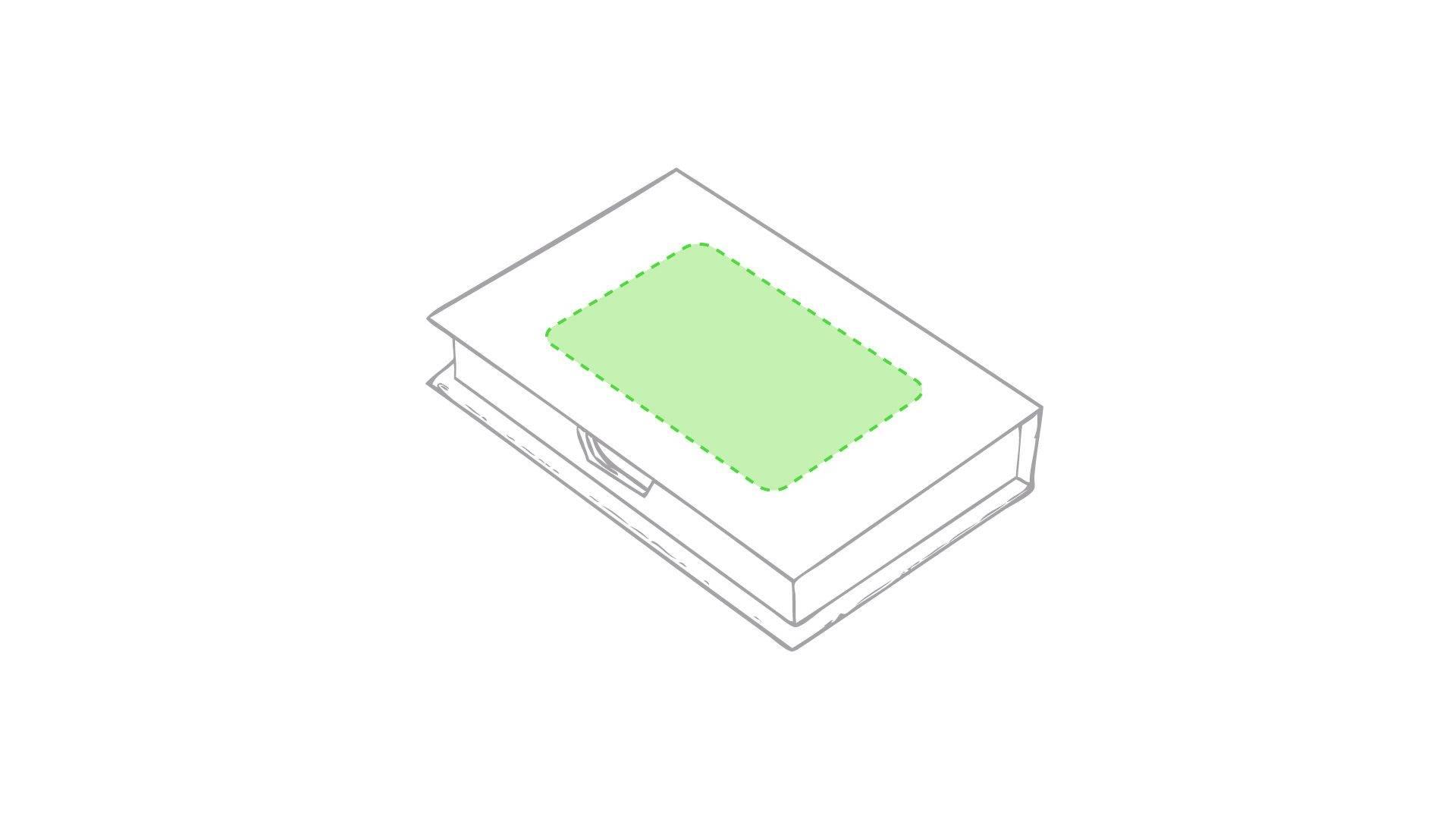 Portanotas con caja 1