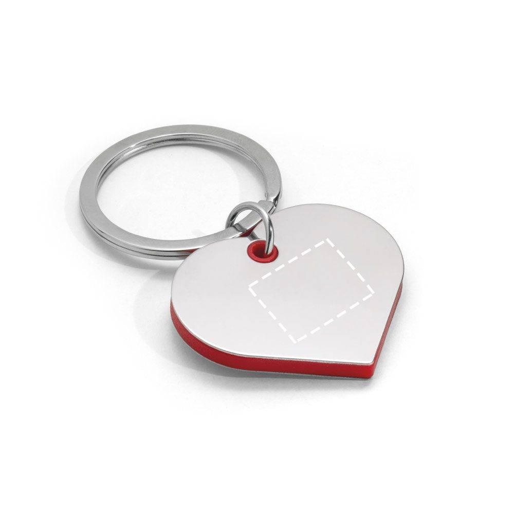 Llavero de corazón 1