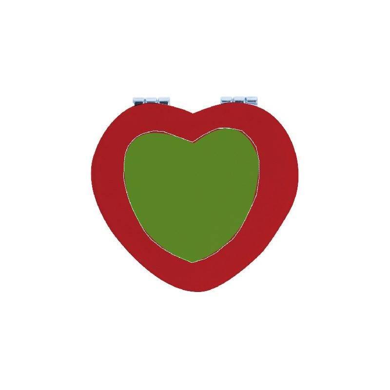 Espejo con forma de corazón 2