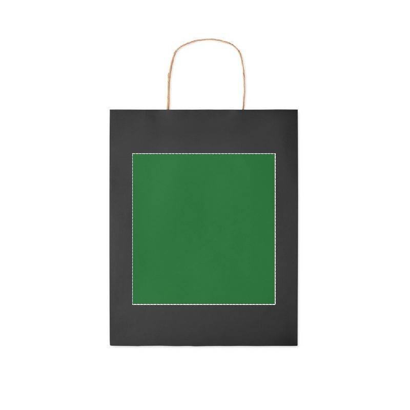 Bolsa de papel de colores mediana 1