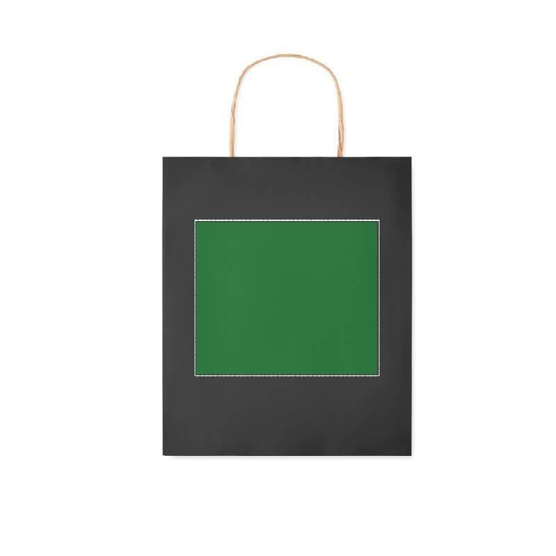 Bolsa de papel de colores pequeña 1