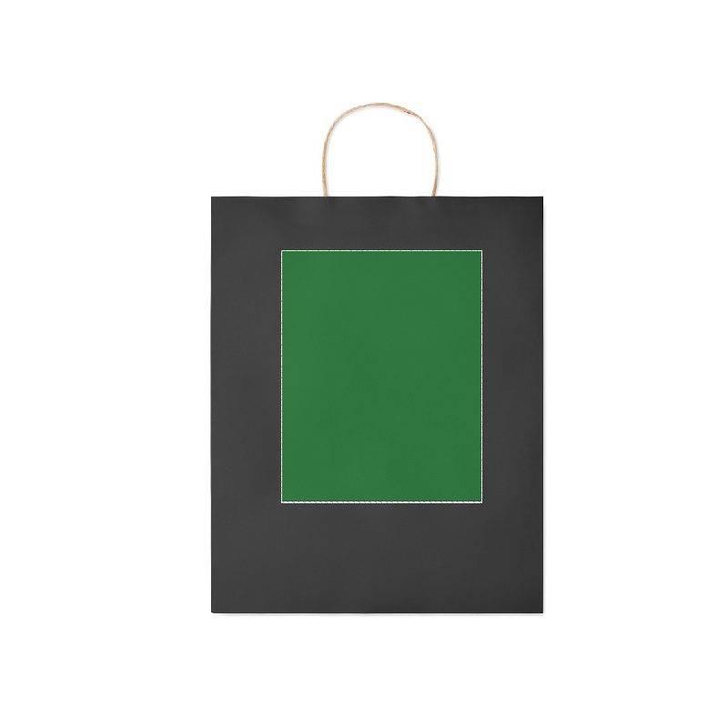 Bolsa de papel de colores grande 1