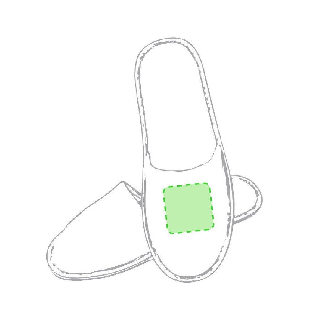 Zapatillas de algodón natural 1