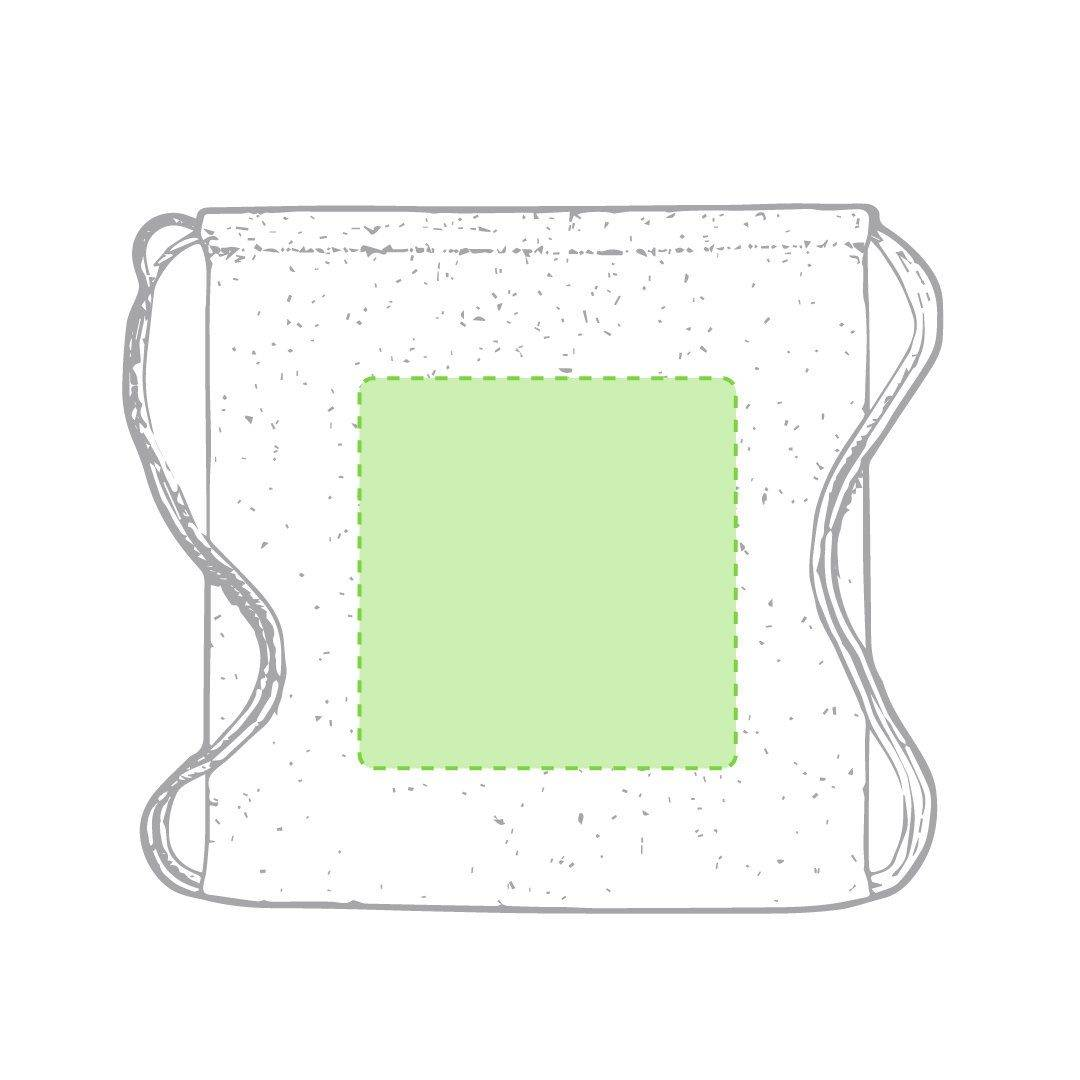 Mochila de algodón reciclado de colores 1