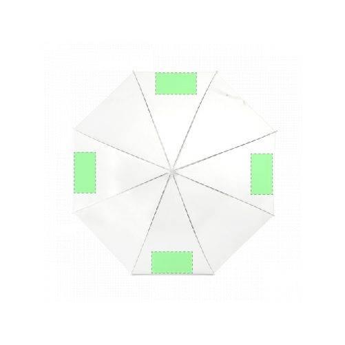 Paraguas de bastón transparente 1