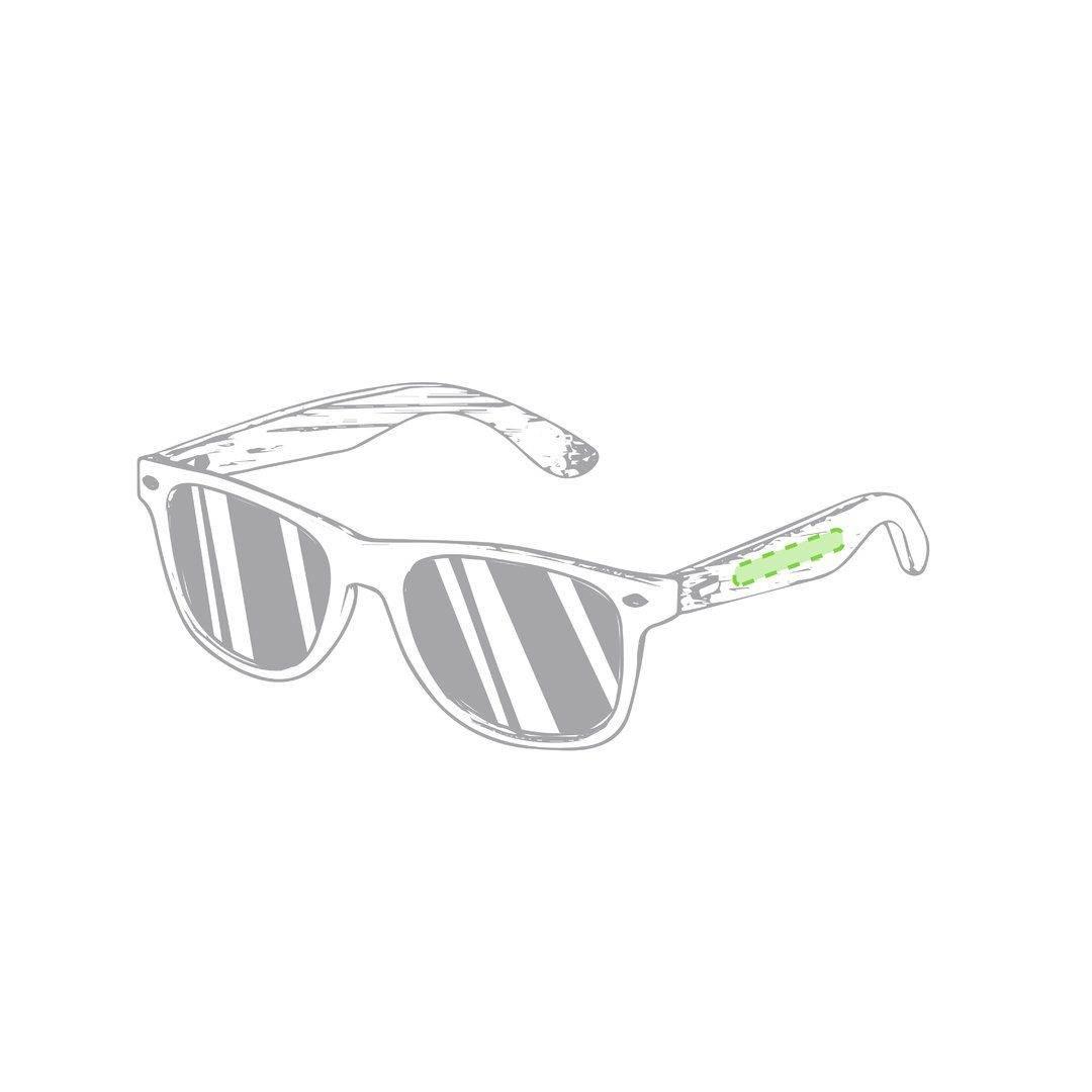 Gafas de sol con patilla de bambú 2