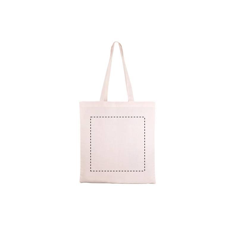 Bolsa de algodón orgánico ecológico GOTS 1