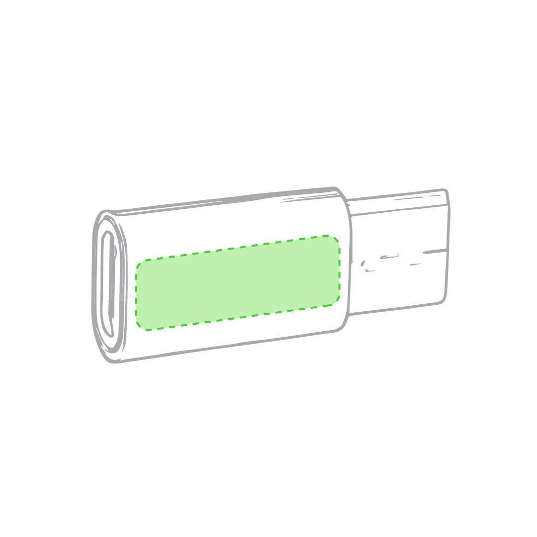 Adaptador USB a conexión tipo C 1