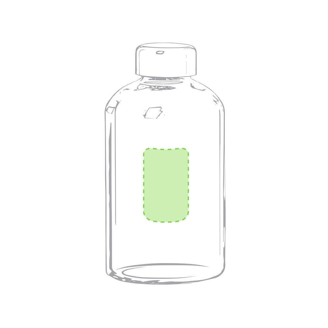 Botella de cristal con funda soft shell 2