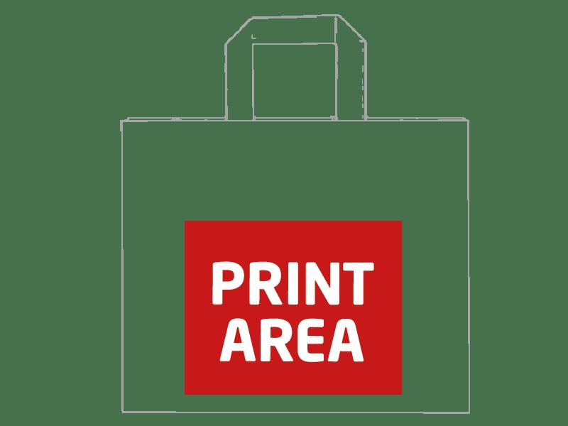 Bolsa de papel reciclado 32 x 27 x 21 cm 1