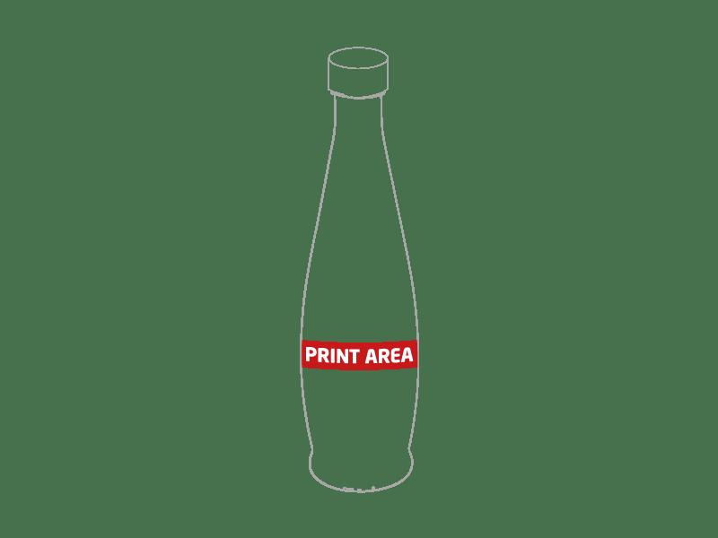 Botella de cristal 1
