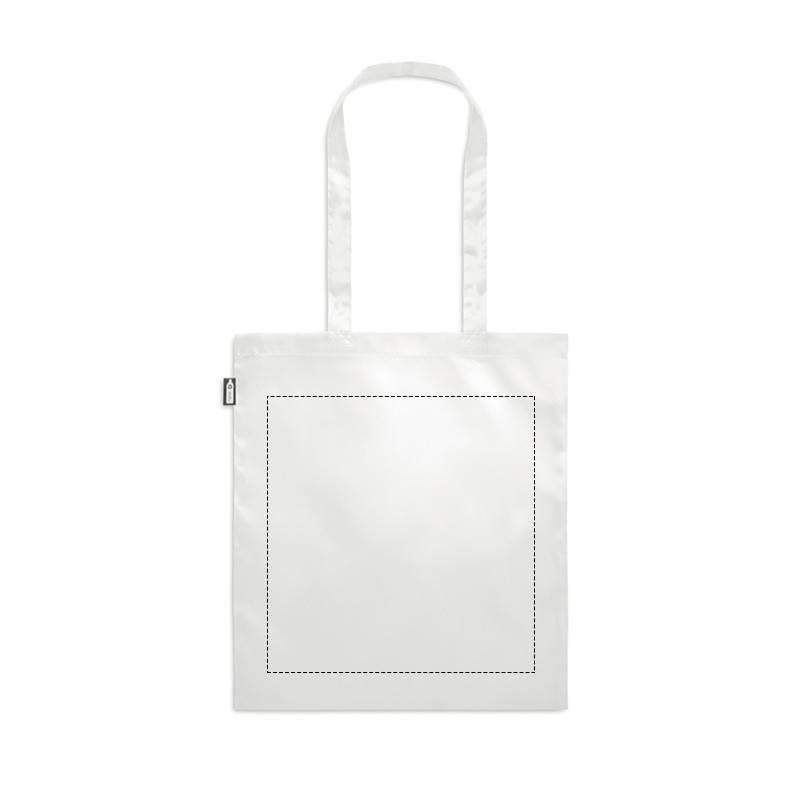 Bolsa de plástico reciclado RPET 1