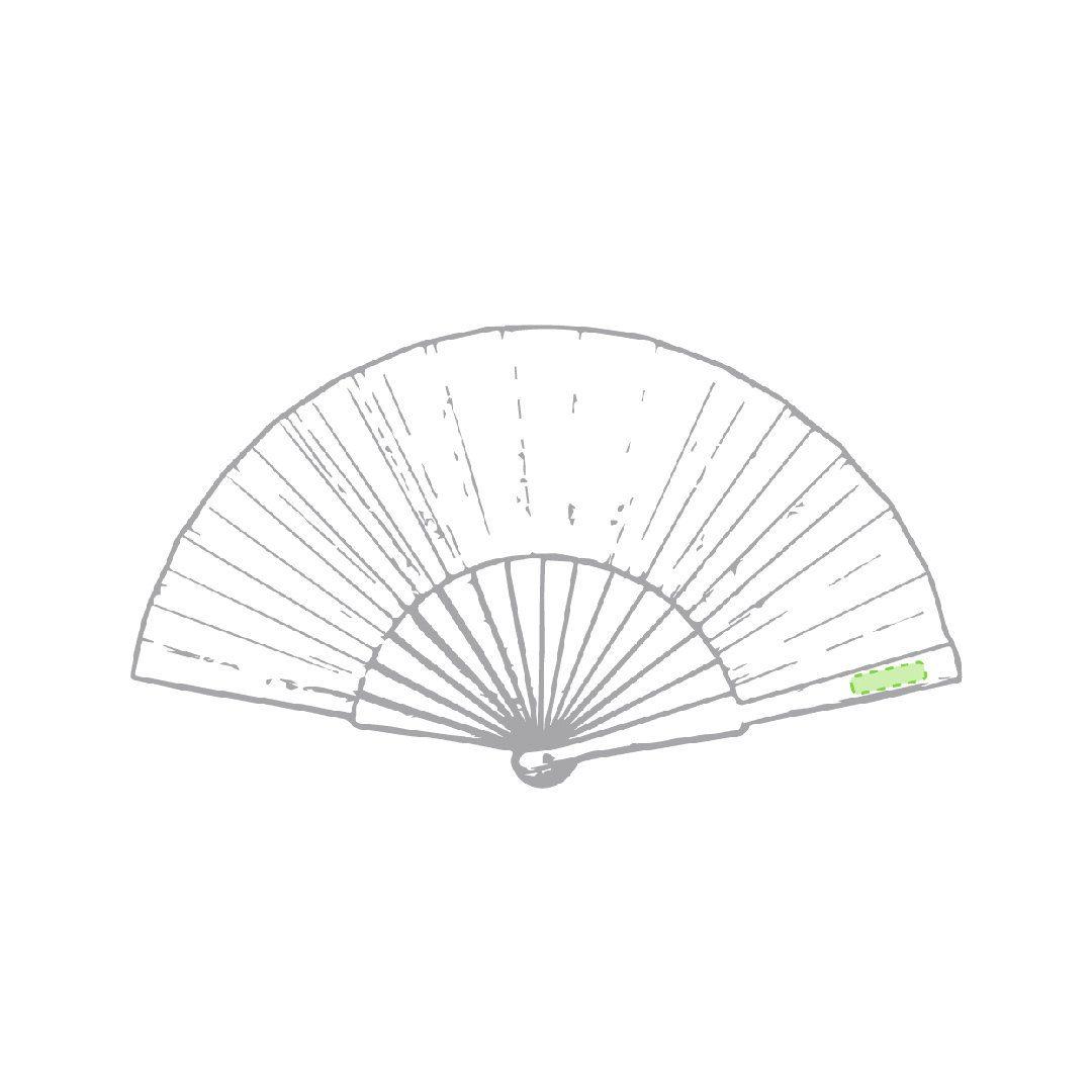 Abanico de bambú 1