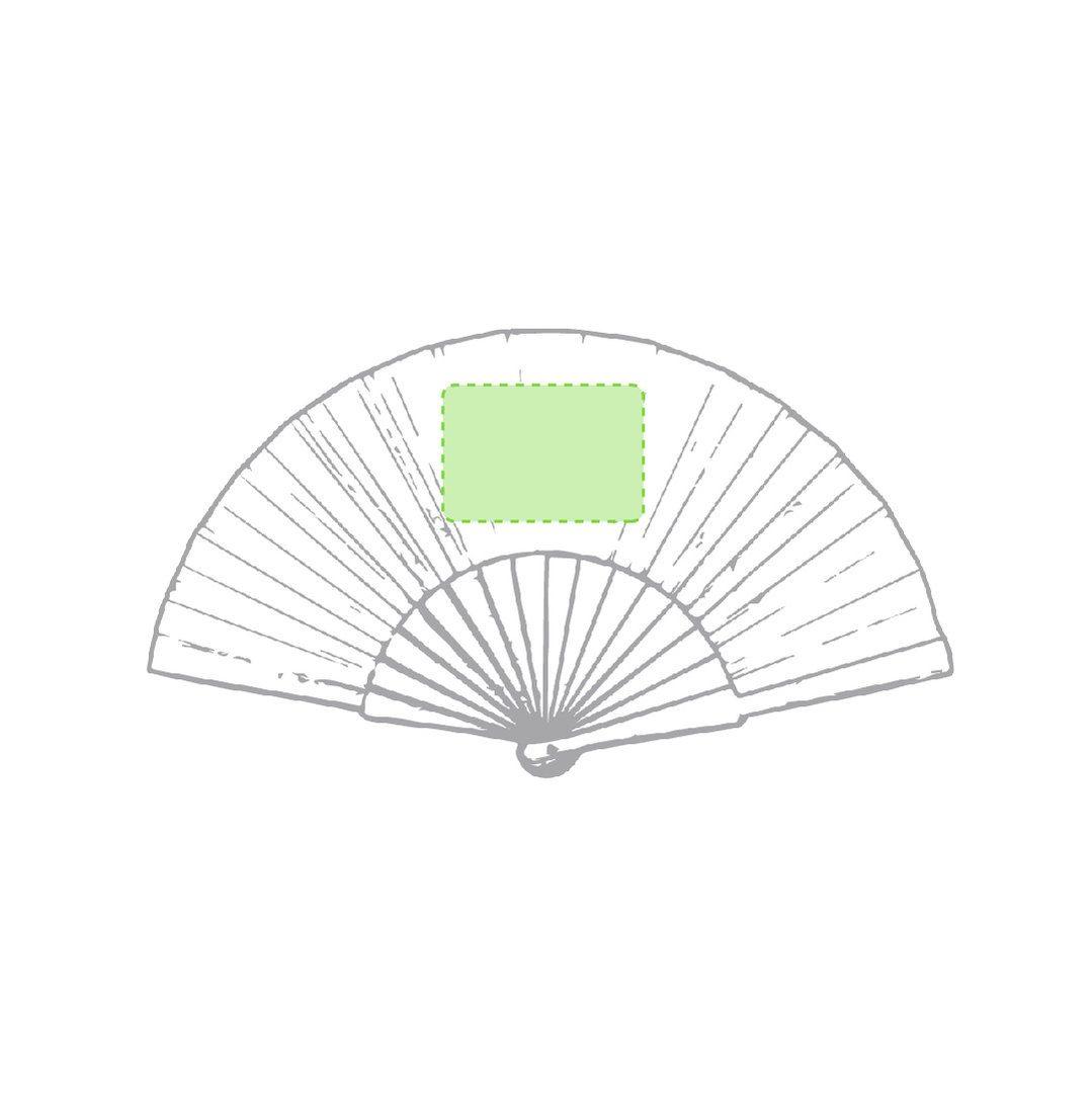 Abanico de bambú 2